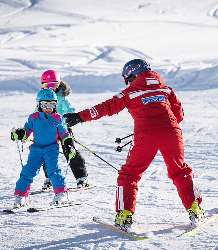 Cours de ski enfants et ados matin