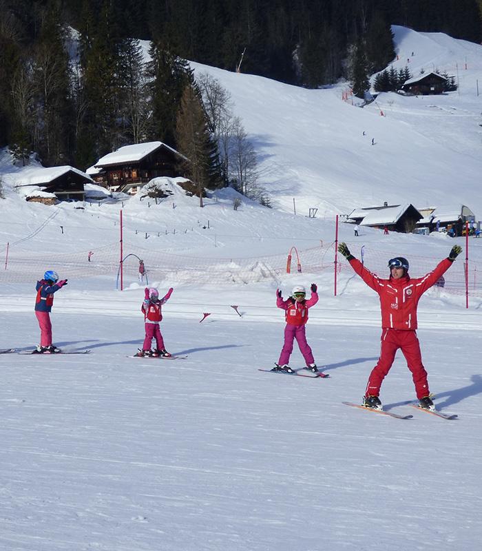 Cours de ski enfants journée