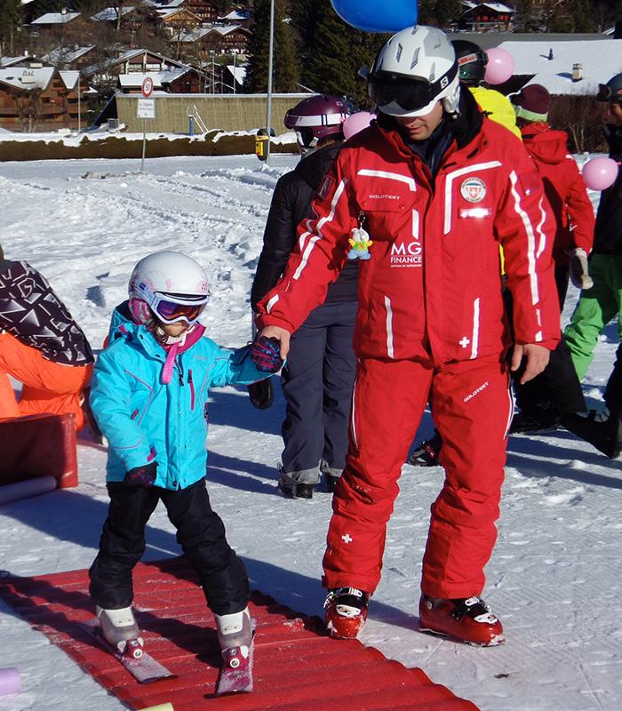 Cours de ski privé 30 minutes