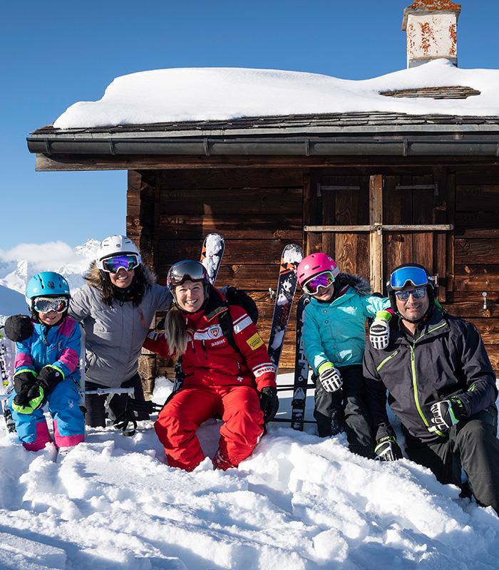 Cours de ski privé journée