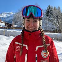 Monitrice école de ski